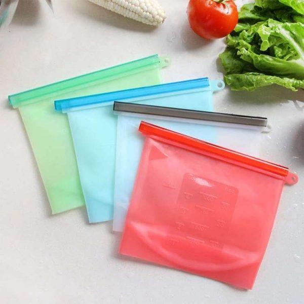 bolsas de silicona reutilizables