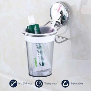 Organizador para cepillos de dientes